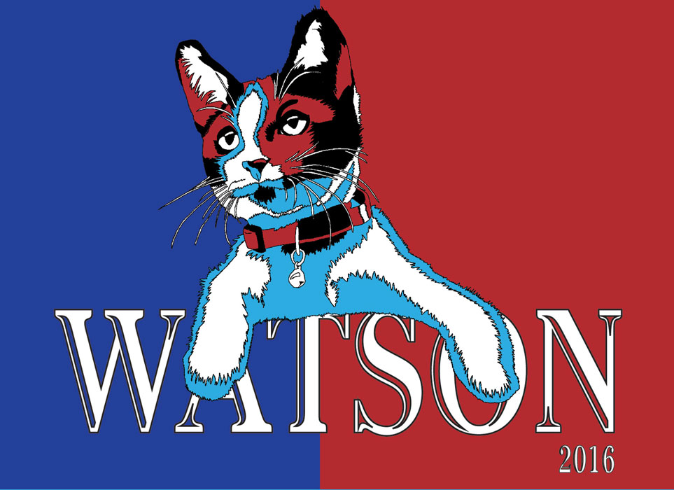 Sydney Langley- Watson for President 02