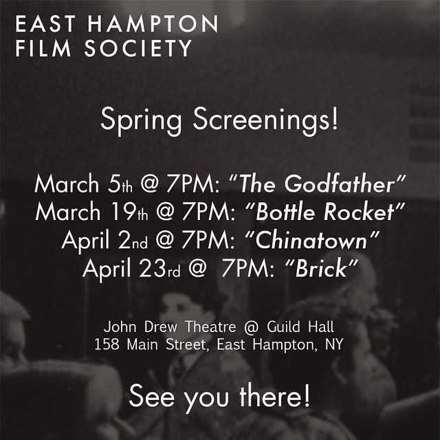 Announcing our Spring Screenings! Come see us!