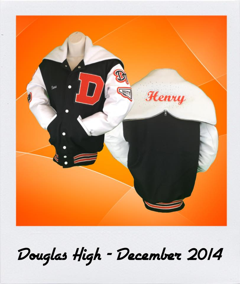 Douglas High Letterman Jacket