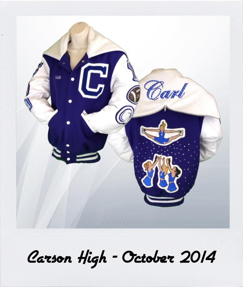Carson High Letterman Jacket