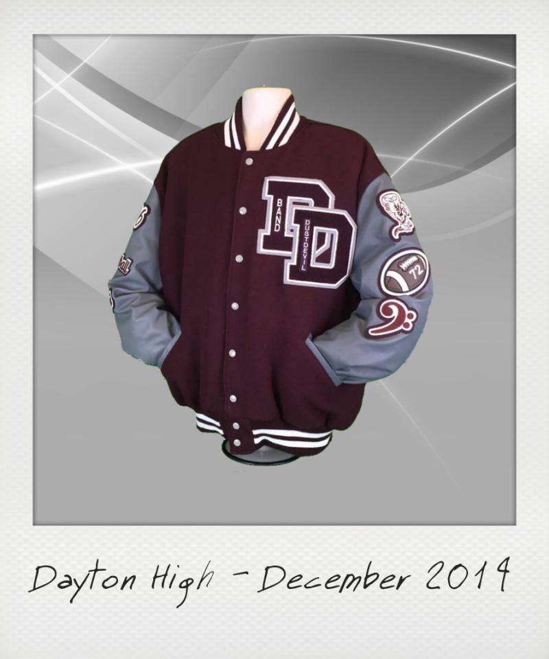 Dayton High Letterman Jacket