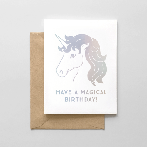 Hello paper co magical unicorn birthday card magical unicorn birthday card bookmarktalkfo Image collections