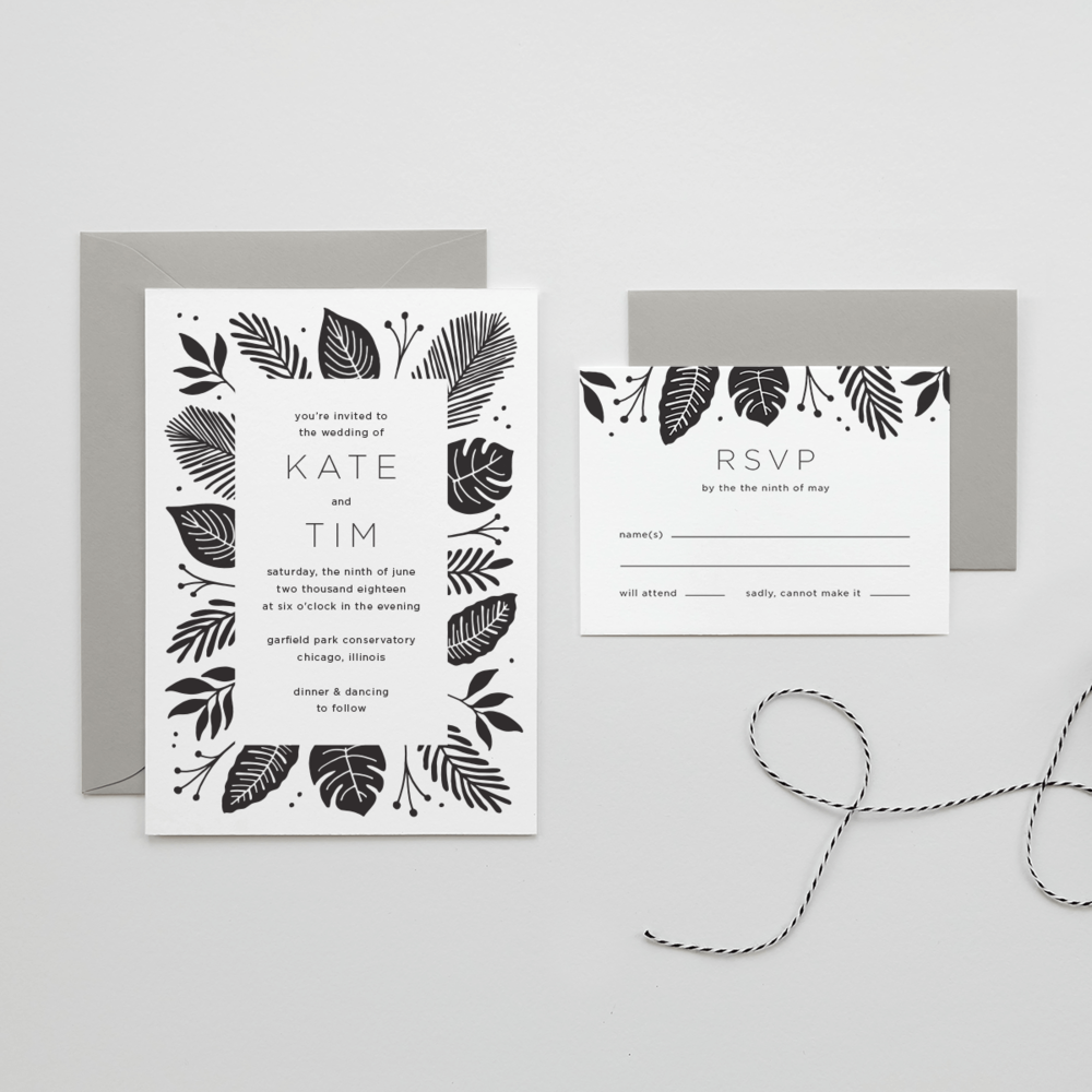 Leaf Wedding Suite