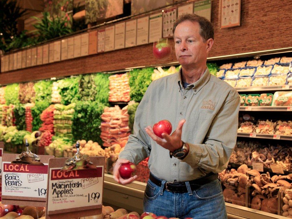Photo of Whole Foods CEO John Mackey via AP