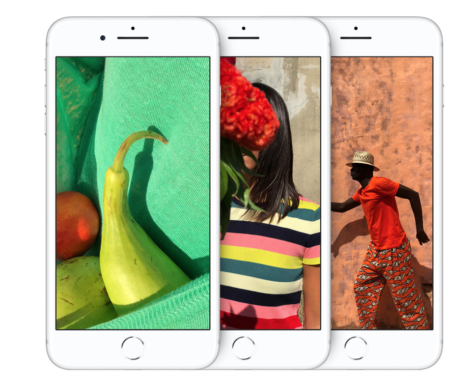iPhone Color Gamut via  Apple