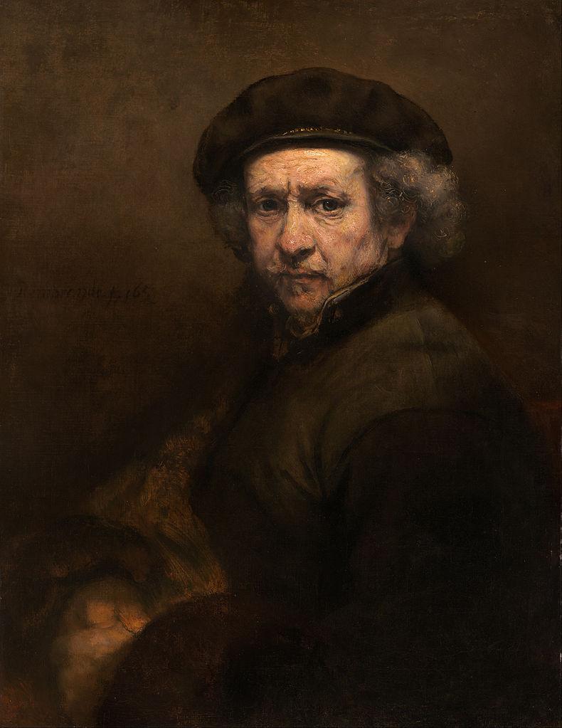 Rembrandt Self-Portrait, 1660