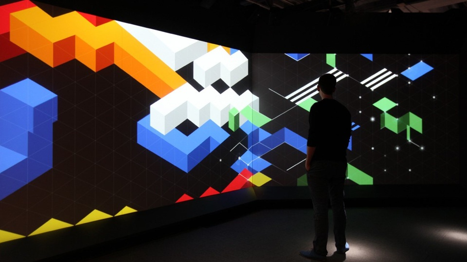 Beyond Rubik's Cube Exhibit   by Liberty Science Center