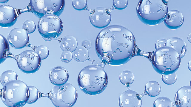 Hydrogen and Helium Molecules