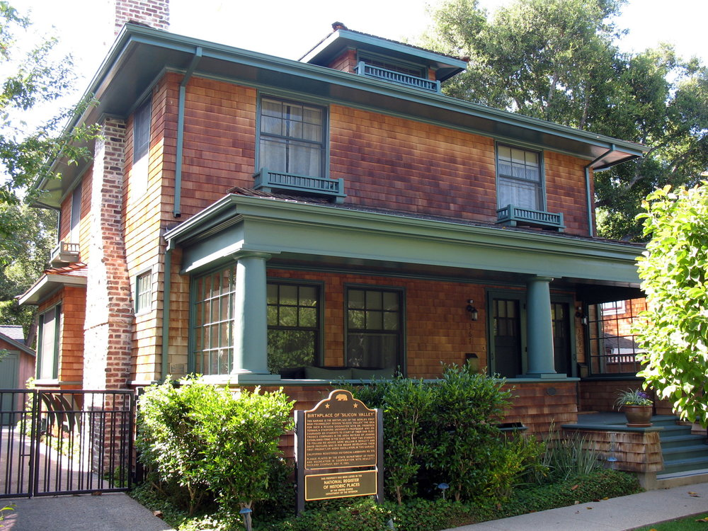Hewlett-Packard House and Garage, 367 Addison Ave., Palo Alto, CA