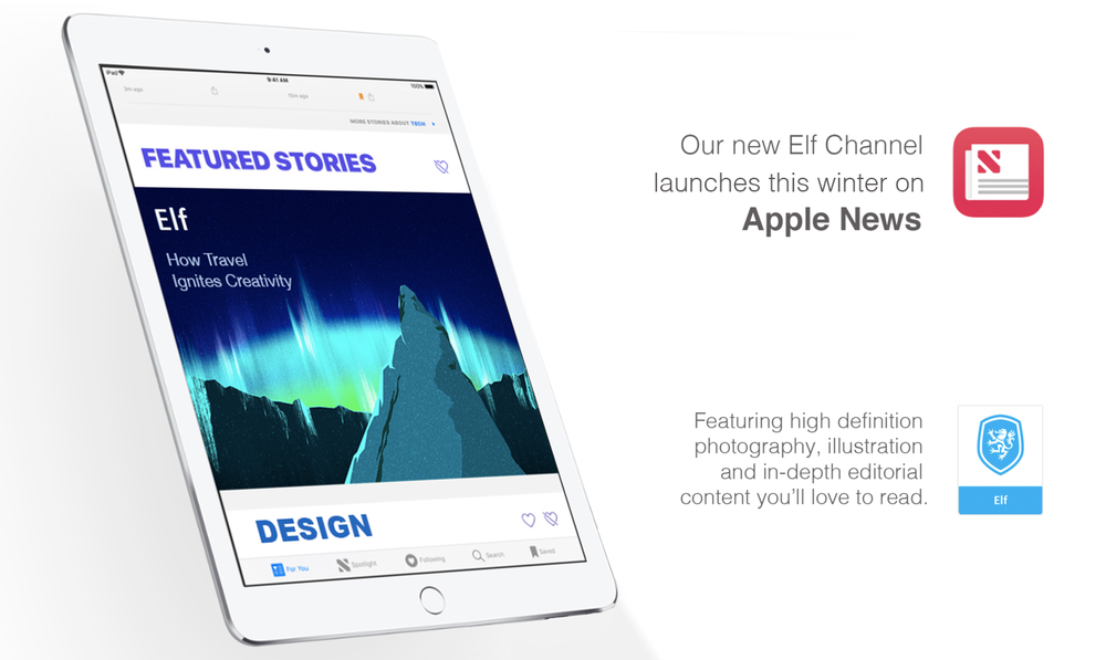 Elf channel on Apple News
