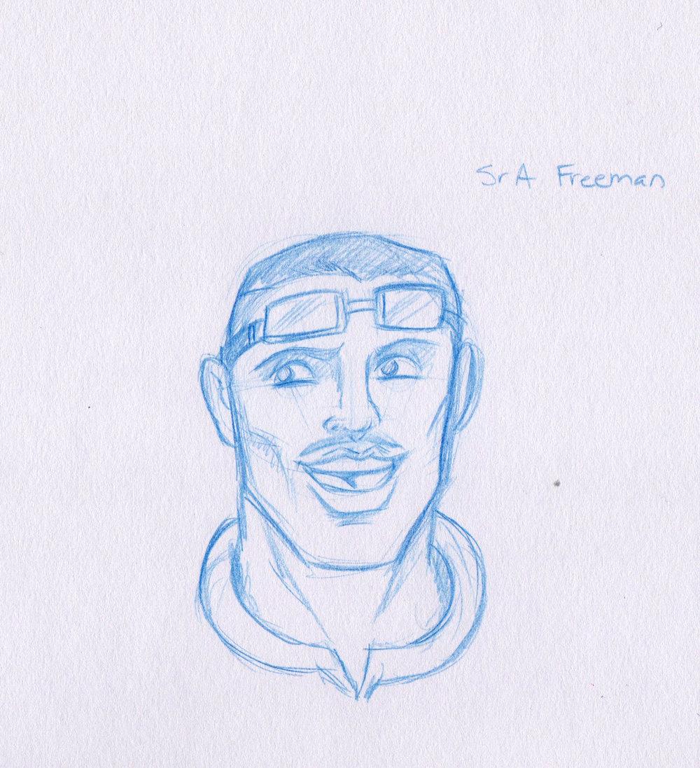 Staff Sergeant Charles Freeman