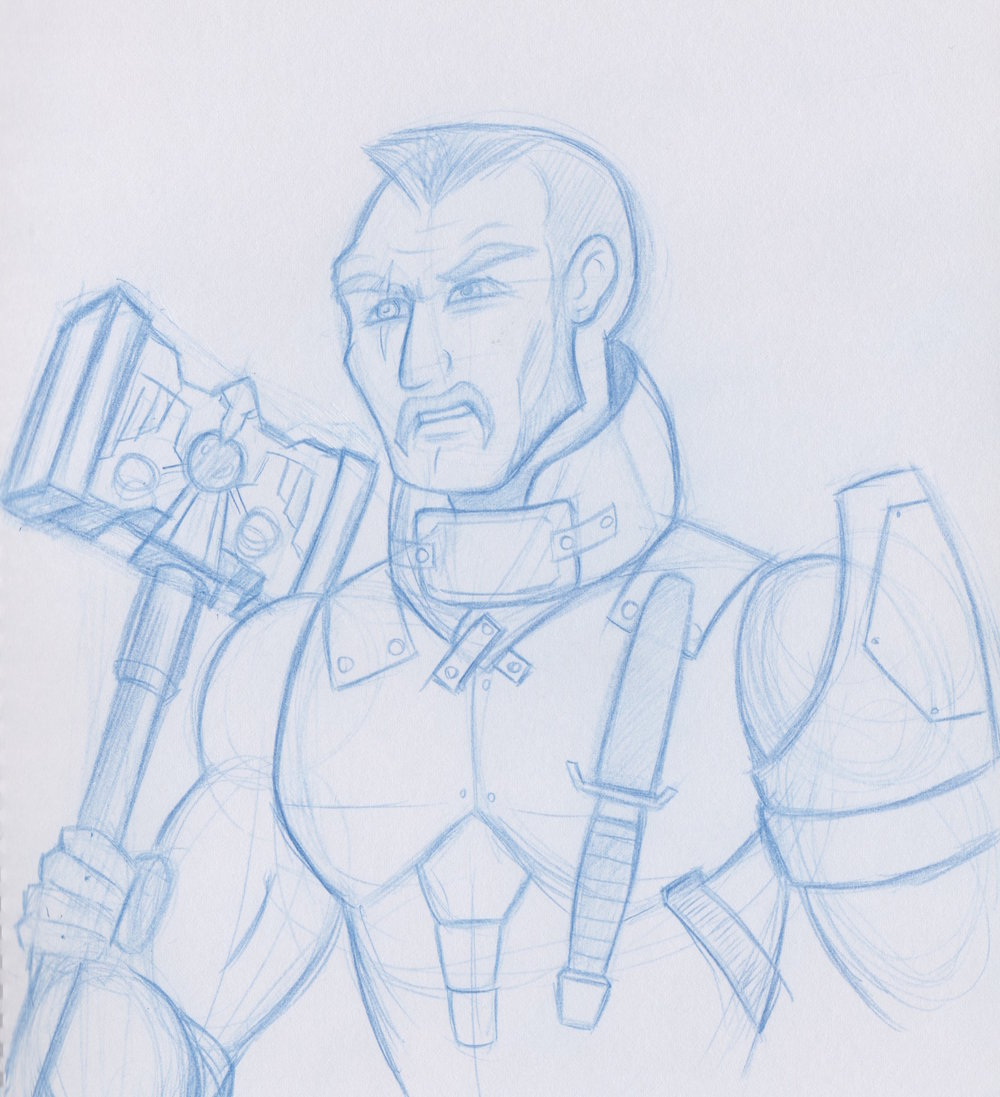 Gunnery Sergeant Max Shoeman