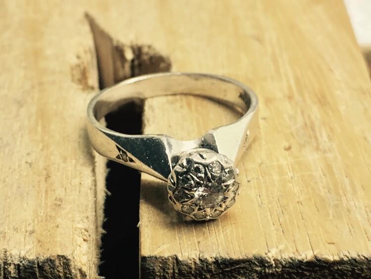 Remodel - Karen's old piece - Harlequin Jewellers Canberra