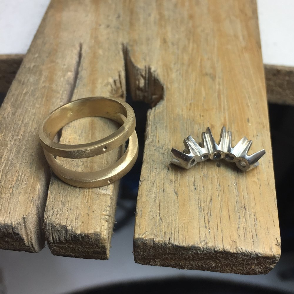 Remodelling a ring Harlequin Jewellers Canberra