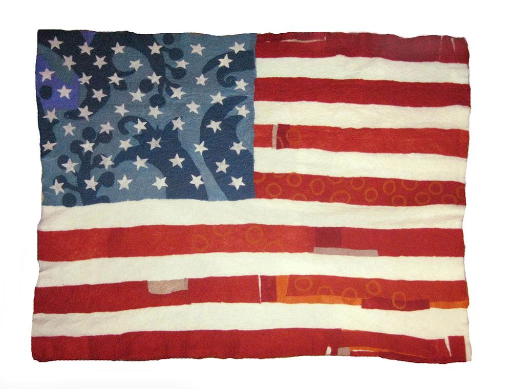 felted wool art Peck American Flag lrg.jpg
