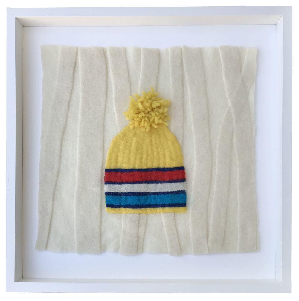 - Primary Hat, 20x20 framed