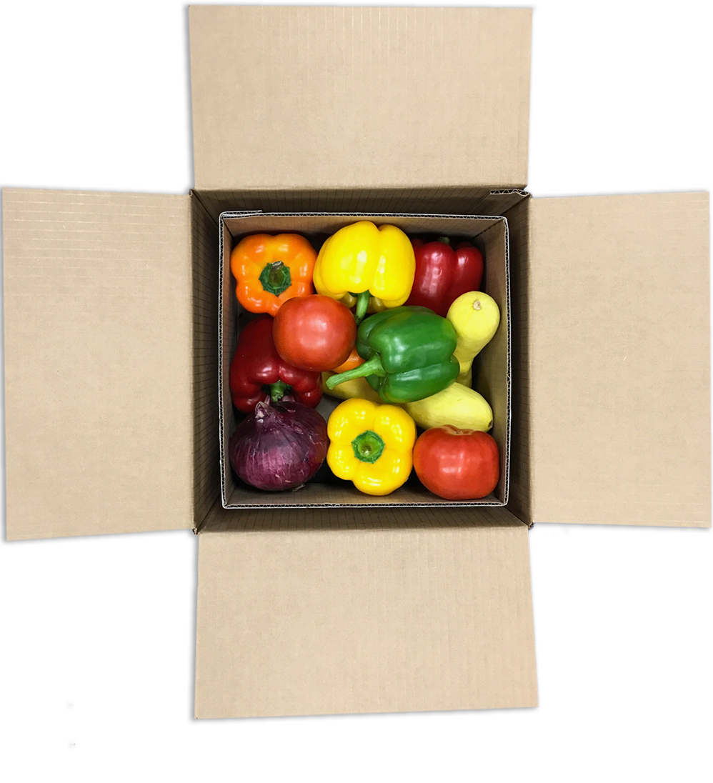100% curbside recyclable containers for shipping perishable goods. -