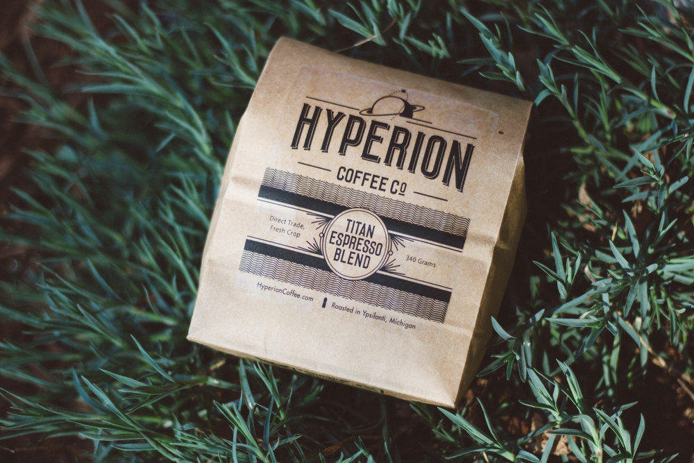 Hyperion Coffee's Titan Espresso Bag