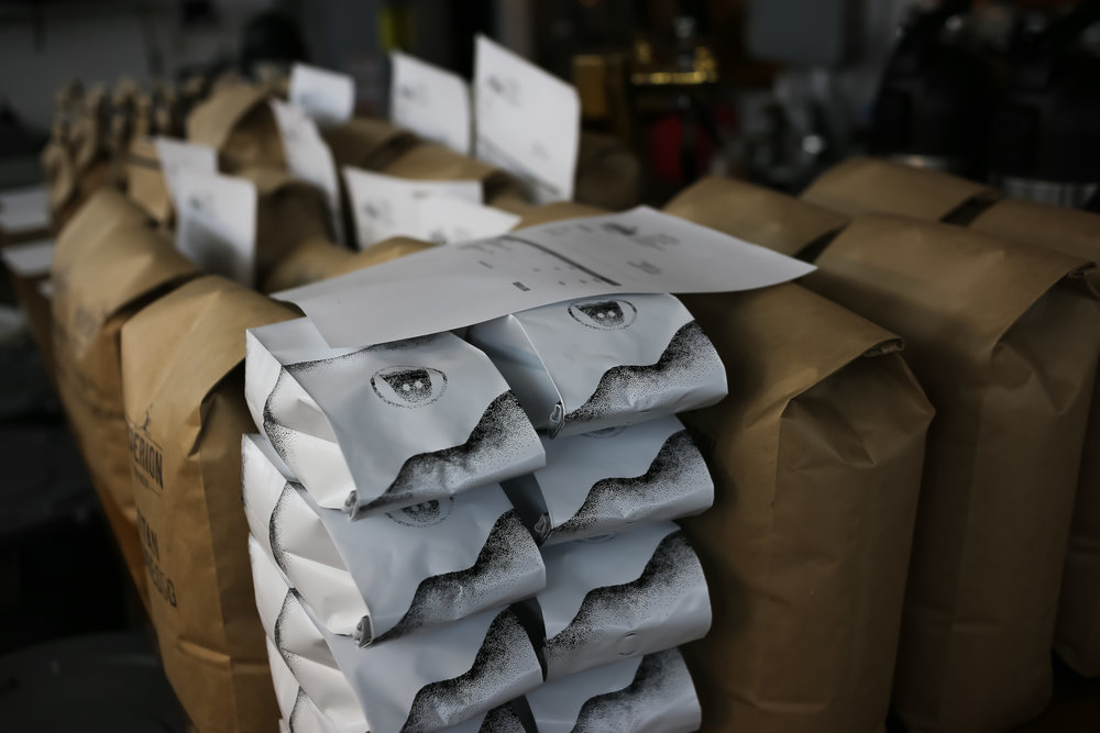 Wholesale Coffee Bags at Hyperion Coffee in Ypsilanti, Michigan