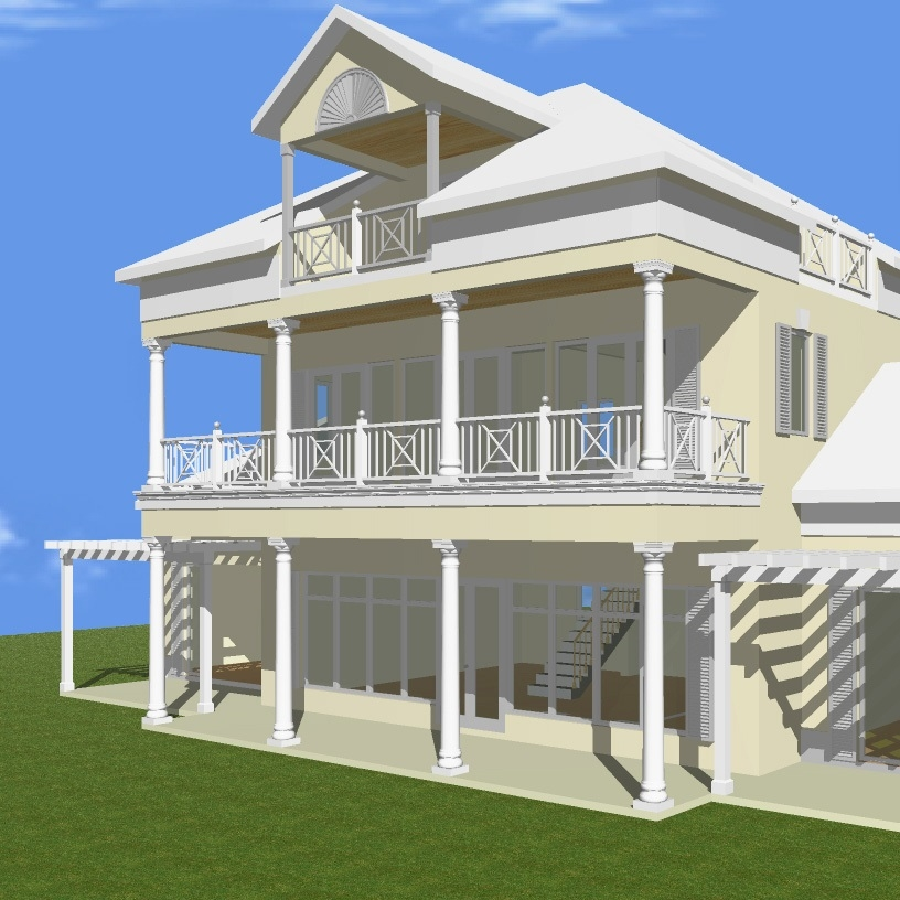 Model for House in Exuma