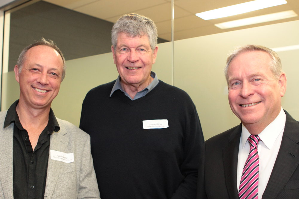 Justin Walter, Graham Moss and Colin Barnett.