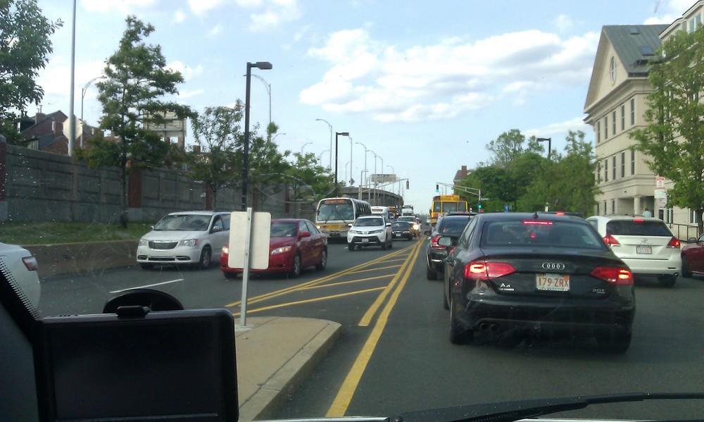 Not buses ... (Chelsea Street, Charlestown)