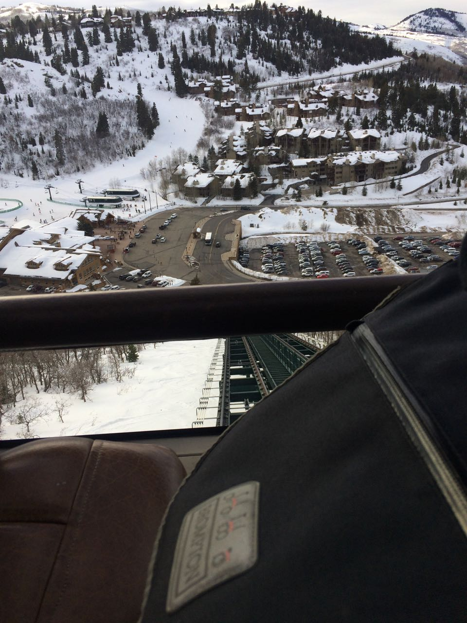 It's a funicular! - Deer Valley resort, Park City, Utah