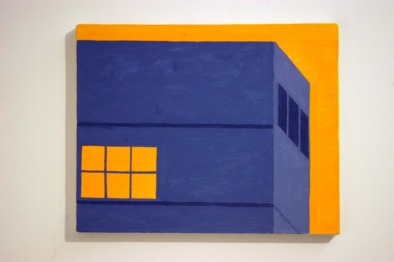 Building (Blue and Orange)
