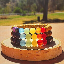 7 CHAKRA WOOD COLLECTION -