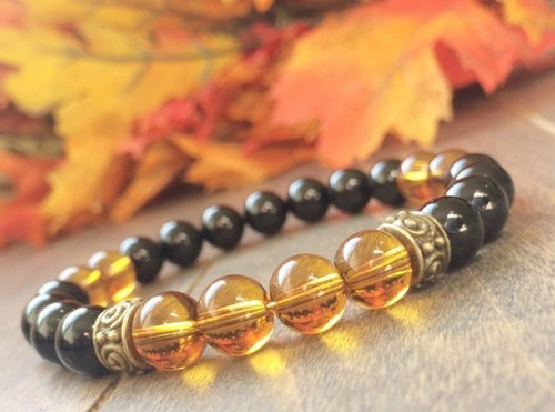 tropical bracelet citrine