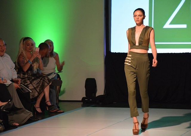 Green with envy for this hallow's eve eve. Love this little throwback from our Shiprwreck collection #couture #ai #artinstitute #fashion #fashiondesign #runway #model #fashionshow #handfinished #vogue #catwalk
