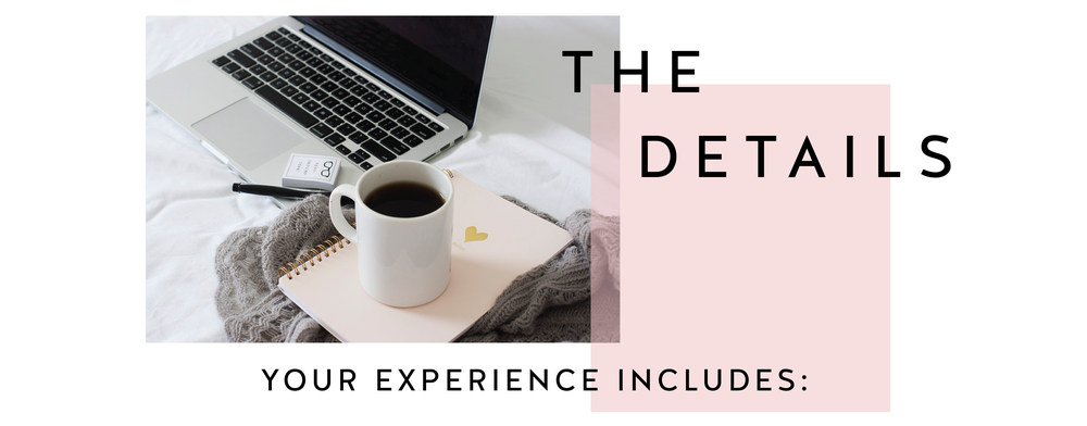 The Details of Your Experience