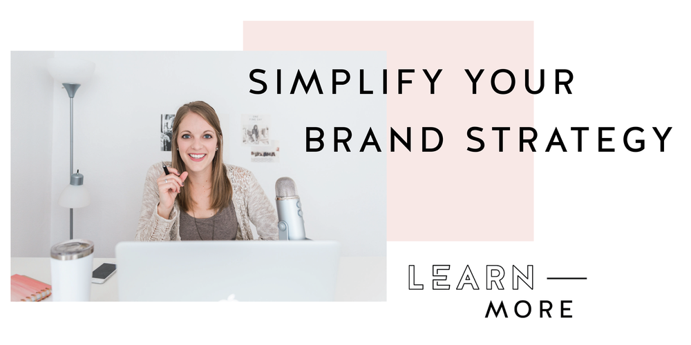 Header Image Simplify your Brand Strategy