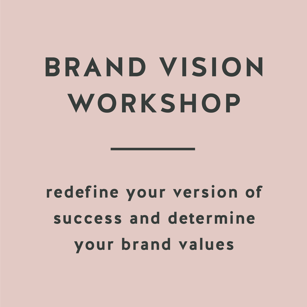 Brand Vision Workshop redefine success and brand values