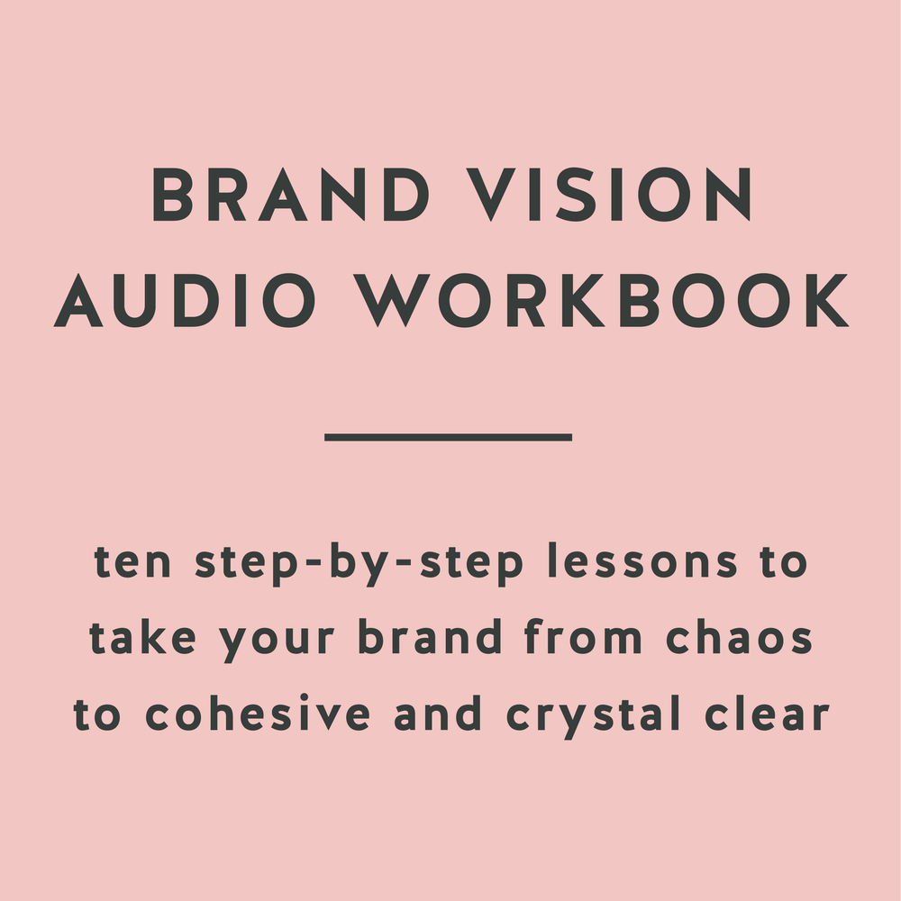 Brand Vision Audio Workbook ten step-by-step lessons