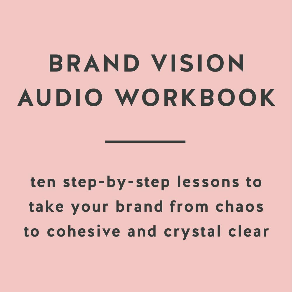 Brand Vision Audio Workbook