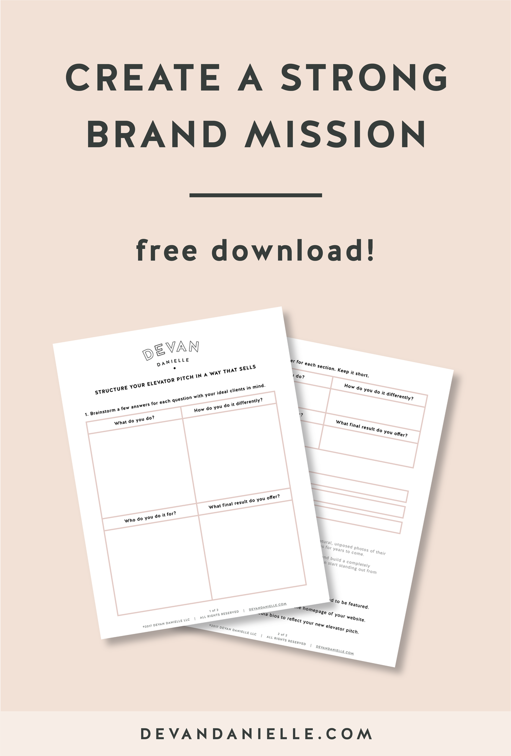 Create A Strong Brand Mission