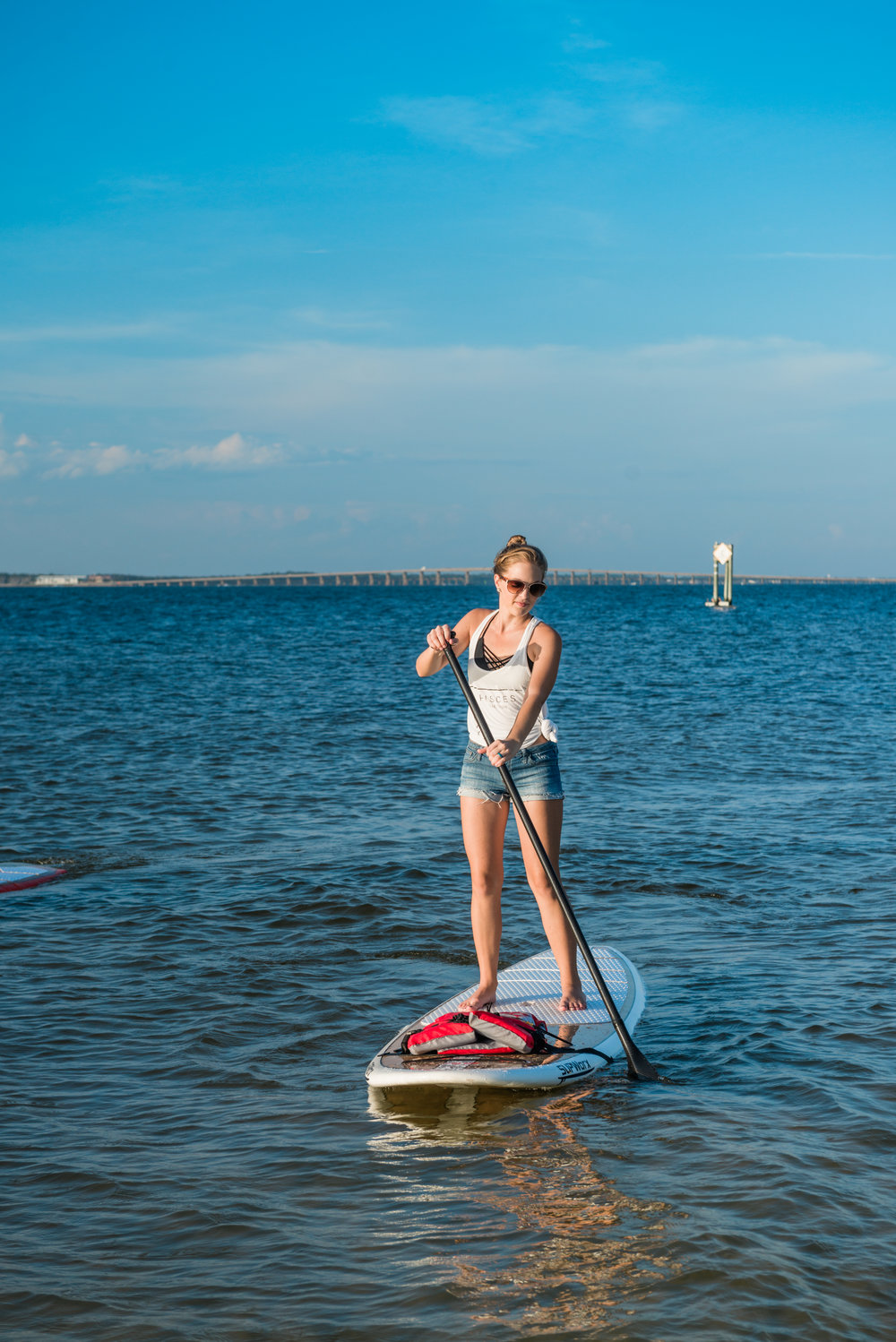 Devan Paddle Boarding Empowered You Page
