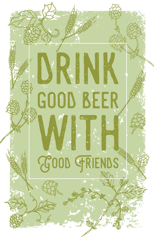 Craft Beer Poster Josie Coffmanshop