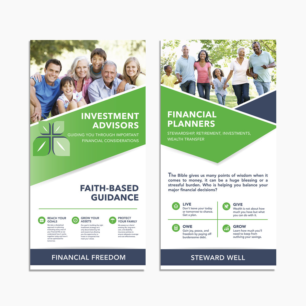 Stewardship Investment Planning: Stand-up Trade Show Banners