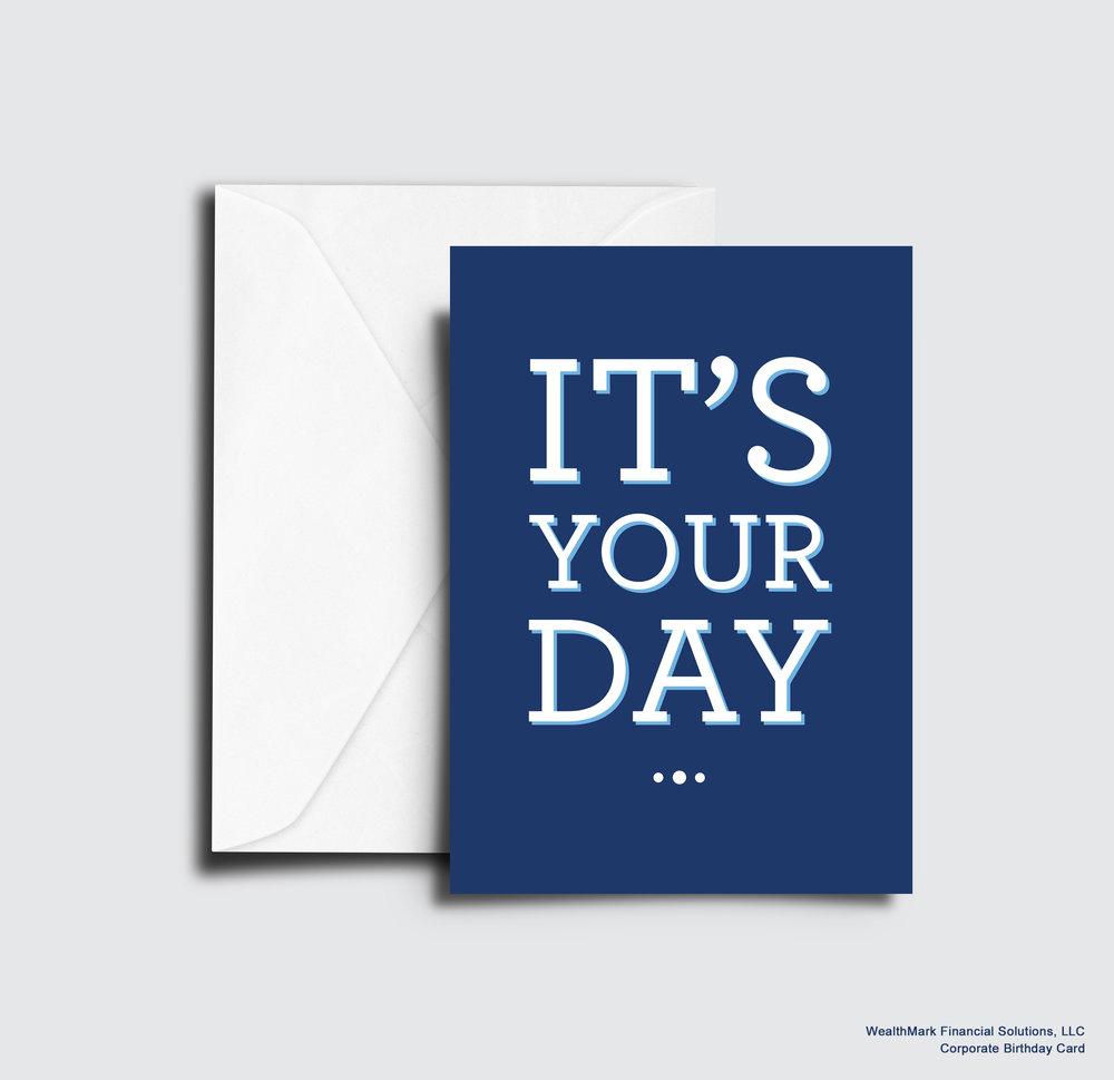 WealthMark Financial Solutions, LLC: Client Birthday Card