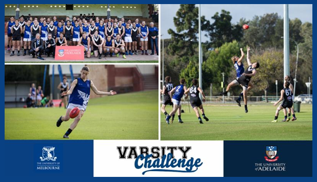 WATCH LIVE:  The University of Melbourne  is taking on the University of Adelaide in the Varsity Challenge Cup Semi Finalt!