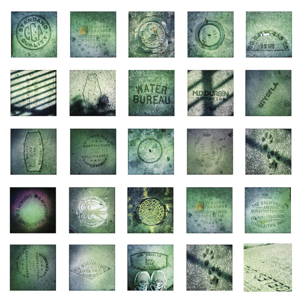 """""""Imprimatur,"""" 5 ft x 5 ft Photo Installation, 2015"""