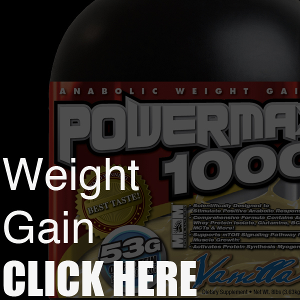 WEIGHT GAIN PRODUCTS
