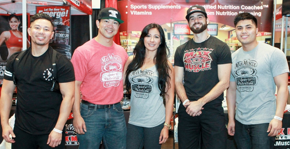 [left to right]: Alex Milan, Jason Mayol, Alexandra Mayol, Ian Powers, Nico Abaya