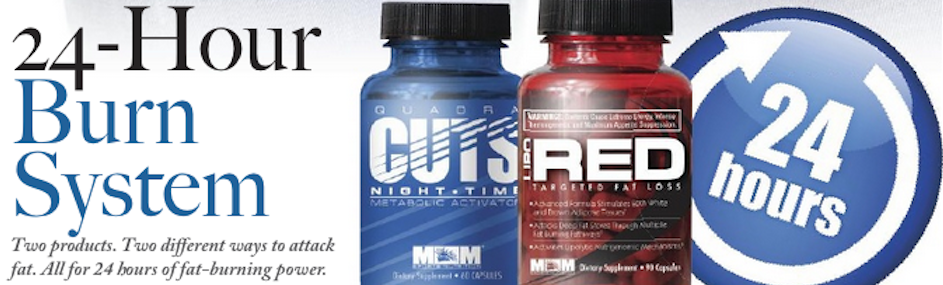 Two products. Two different ways to attack fat.    READ MORE