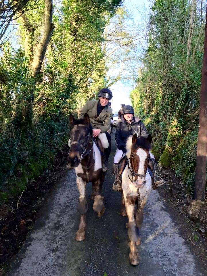 Hunting in Kilbane with the East Clare Harriers