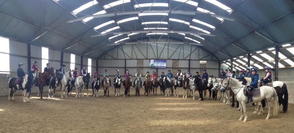 Indoor riding school