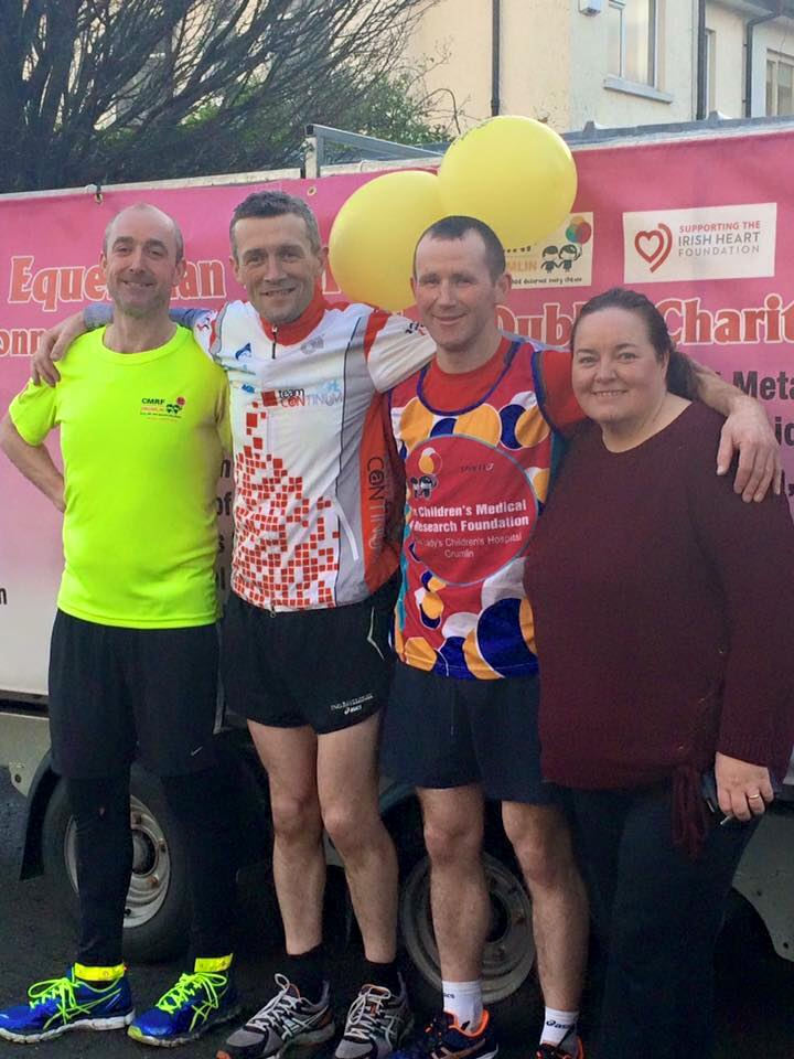100 Mile Charity Run from Nenagh to Dublin