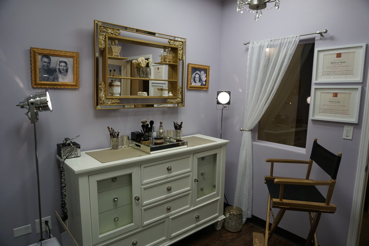 The Make-Up Room — Dorothy & Delora